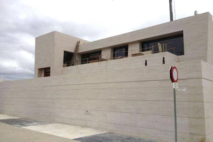 Servicio de revestimiento fachadas Valencia Marmoles Cazorla